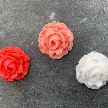 Natural Handmade Soap, Organic Rose..