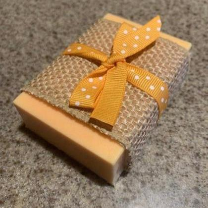 Natural Handmade Organic Soap, Peac..